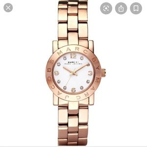 Marc Jacobs Amy Bracelet watch Rosegold